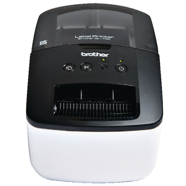 Brother QL-700 High-Speed Label Printer Black QL700ZU1