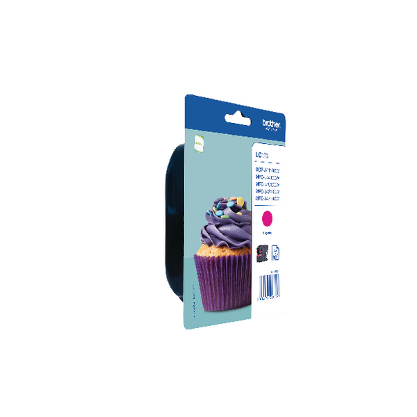 Brother Magenta Ink Cartridge LC123M