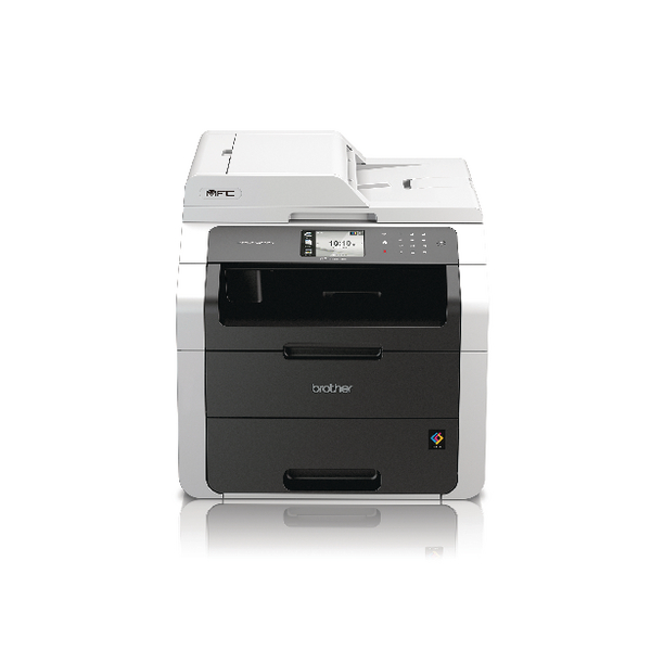 Brother MFC-9140CDN Colour Laser All-in-One Printer With Fax Duplex Network White MFC9140CDN