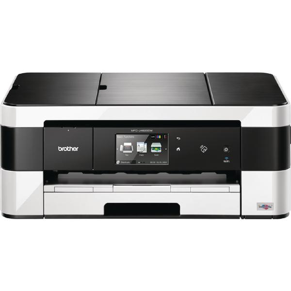 Brother MFC-J4620DW A3 Inkjet All-in-One Printer With Fax Duplex NFC Wireless White MFCJ4620DWZU1