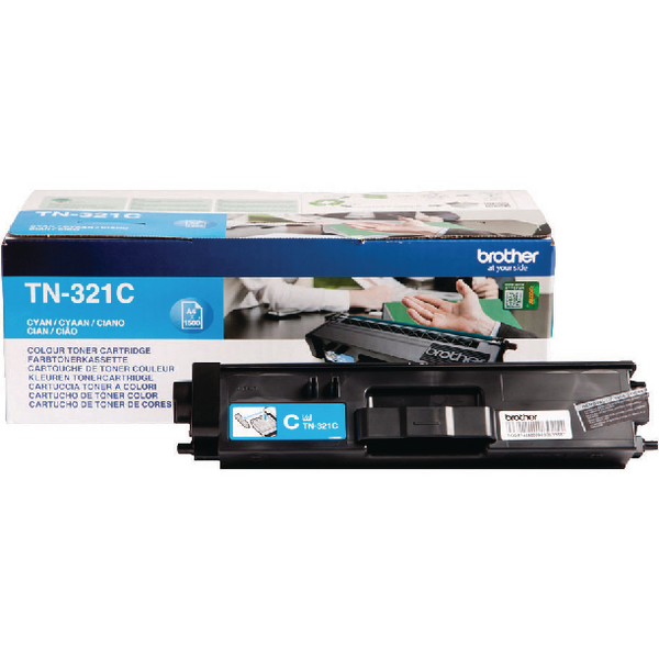 Brother TN321C Cyan Laser Toner Cartridge TN-321C