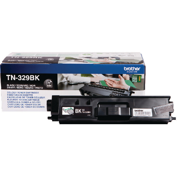 Brother TN329BKBlack Super Toner Cartridge High Capacity TN-329BK