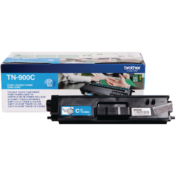 Brother TN-900 Cyan Super Toner Cartridge High Capacity TN900C