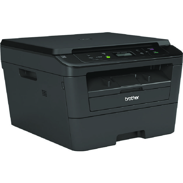 Brother DCP-L2520DW Compact Mono Laser All-in-One Printer Duplex Wireless Black DCPL2520DWZU1