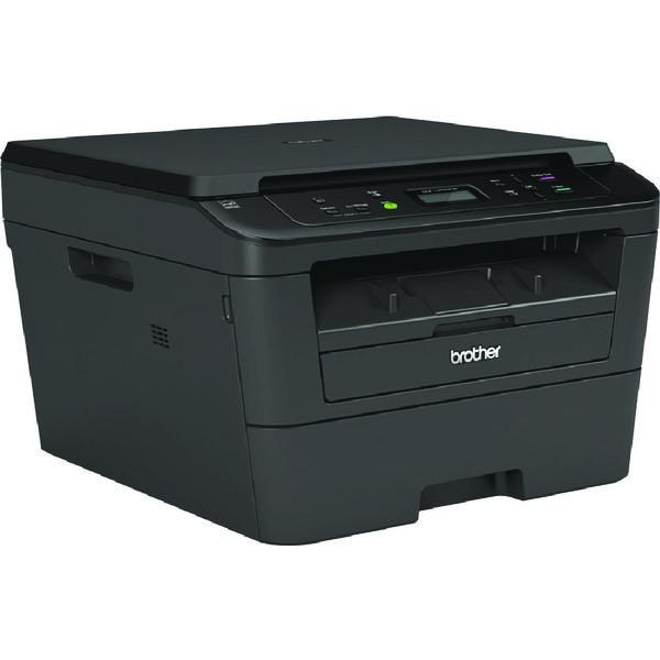 Brother DCP-L2520DW Compact Mono Laser All-in-One Printer Duplex Wireless Black DCPL2520DWZU1