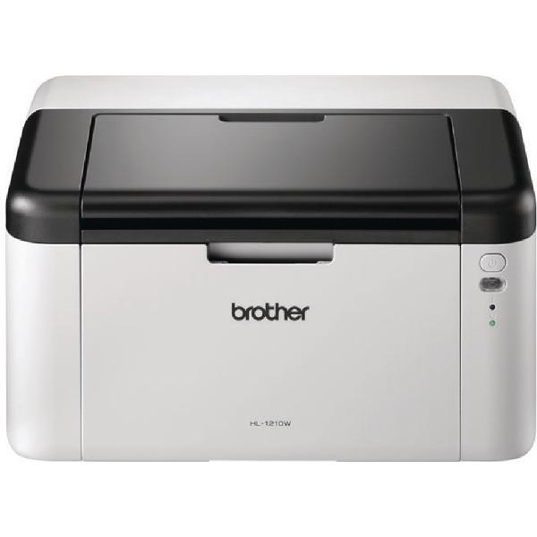 Image for Brother HL-1210W Mono Laser Printer Wireless White HL1210WZU1