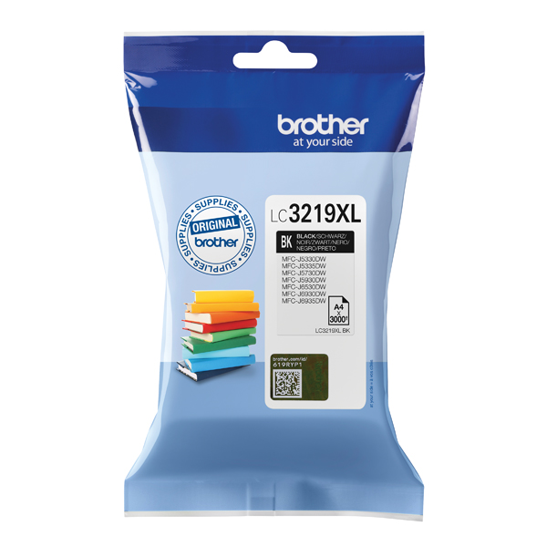 Brother High Yield Black Inkjet Cartridge LC3219XLBK For Use On MFC-J5330DW, 5730, 5930, 6530 and 6930 etc.