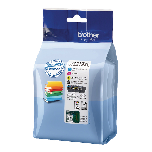 Brother LC3219 Value Pack CMYK LC3219XLVAL For Use On MFC-J5330DW, 5730, 5930, 6530 and 6930 etc.