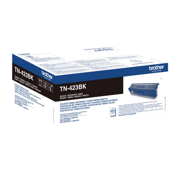 Brother TN423BK Black High Yield Toner Cartridge TN423BK