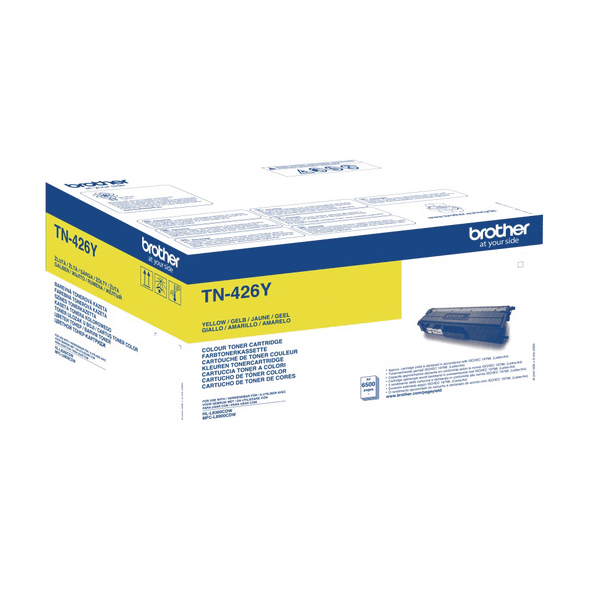 Brother TN426Y Extra High Yield Yellow Toner Cartridge TN426Y