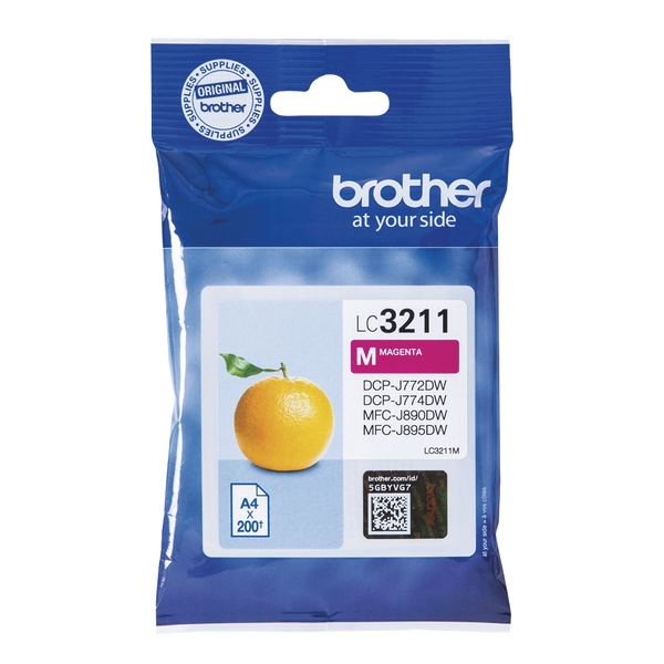Brother Ink Cartridge Magenta LC3211M