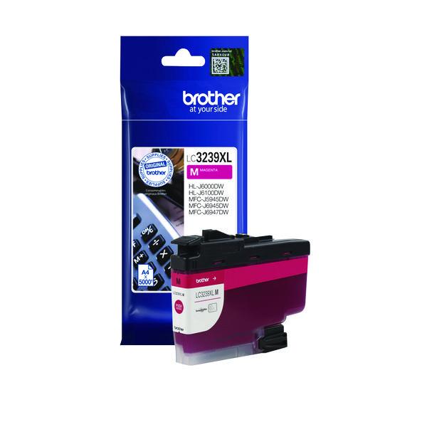 Brother LC3239XLM High Yield Magenta Inkjet Cartridge LC3239XLM