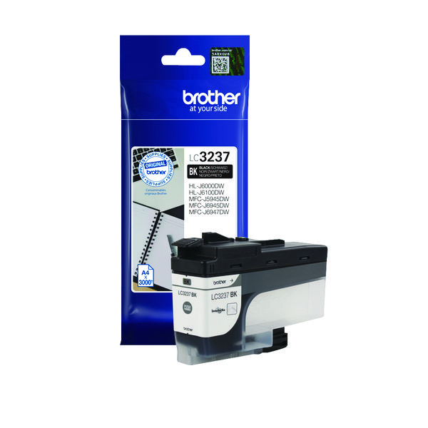 Brother LC3237BK Black Ink Cartridge LC3237BK