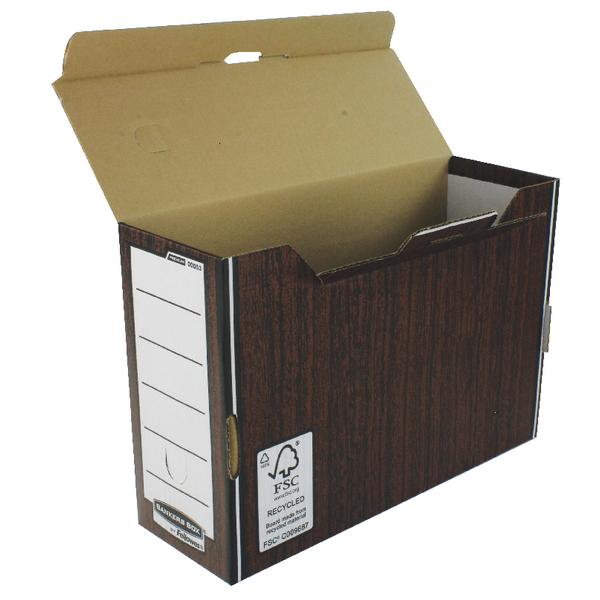 Bankers Box Woodgrain Premium Transfer Files (Pack of 10) 0005302