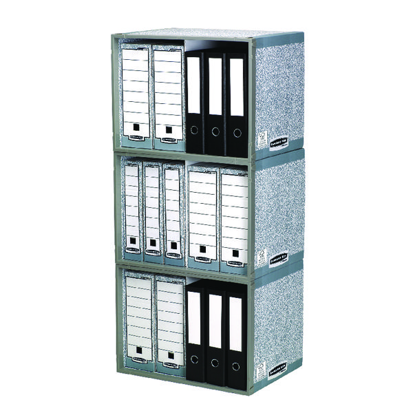 Bankers Box System Stax File Store (Pack of 5) 01850