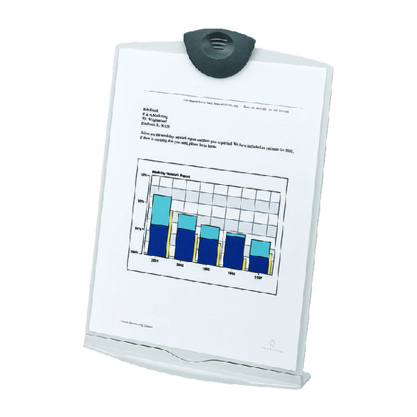 Fellowes A4 Copyholder Stand Dove Grey 20000