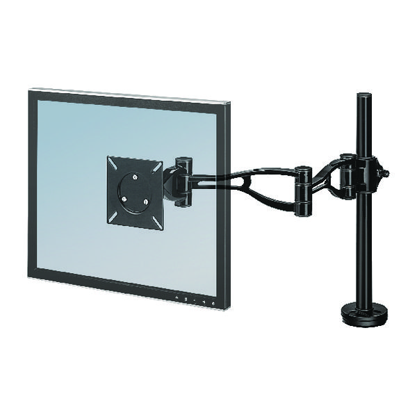 Image for Fellowes Smart Suites Flat Panel Monitor Arm Black 8038201