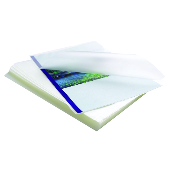 Image for Apex A3 Medium Duty Laminating Pouches 250 Micron Clear (Pack of 100) 6003401