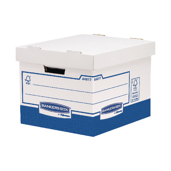 Fellowes Basics Standard Heavy Duty Storage Box W333 x D380 x H285mm (Pack of 10) BB72105