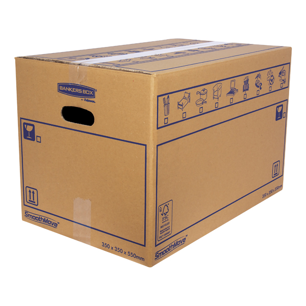 SMOOTHMOVE MOVING BOX 350X350X550MM PK10