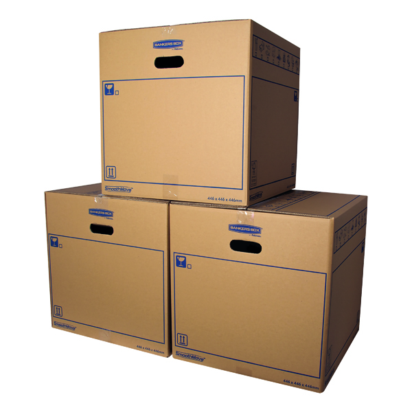 Bankers Box SmoothMove Standard Moving Box 446 x 446 x 446mm (Pack of 10) 6207401