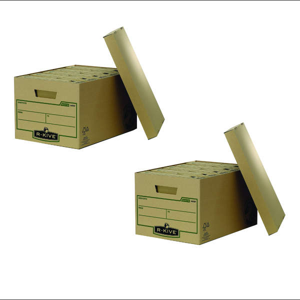 Fellowes Earth Series Large Storage Box (2 Packs of 10)