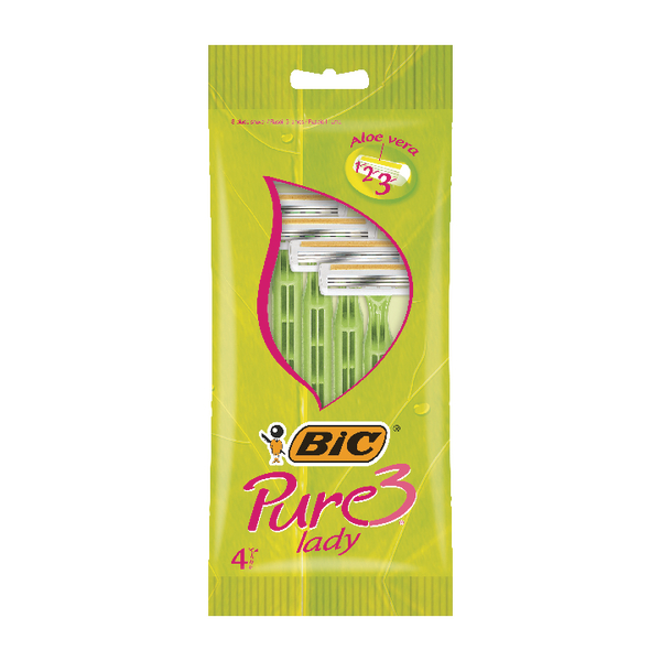 Bic Pure 3 Lady Shavers (Pack of 40) 872900