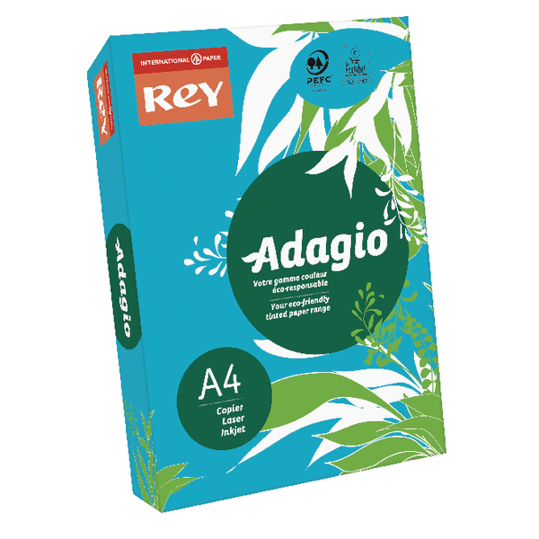 Adagio Intense Deep Blue A4 Coloured Card 160gsm (Pack of 250) 201.122