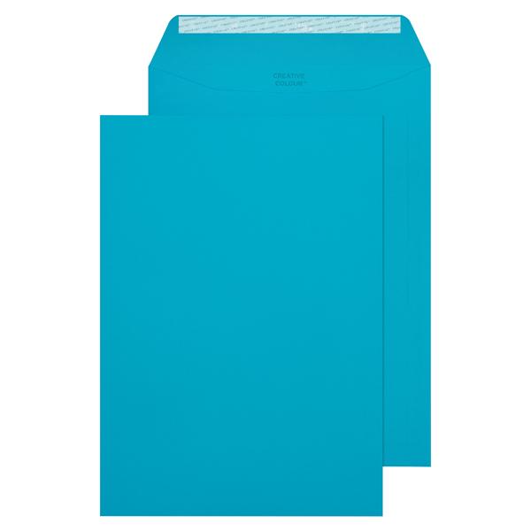 C4 Pocket Envelope Peel and Seal 120gsm Cocktail Blue (Pack of 250) 409P