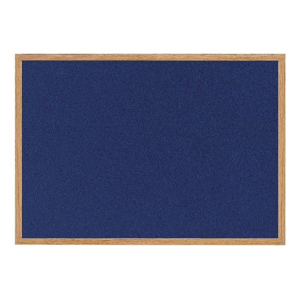 Bi-Office Earth-it Felt Notice Board 1200x900mm Blue RFB1443233