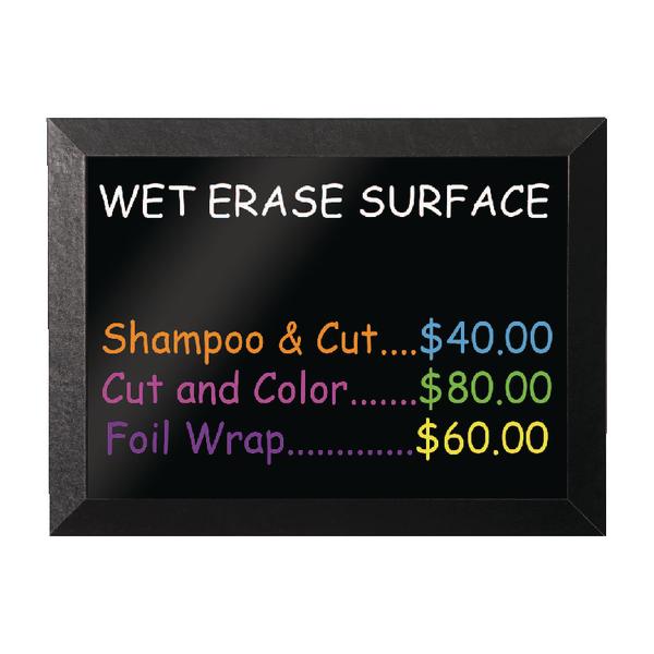 Bi-Office Kamashi Wet Erase Board 900x600mm Black MM07151620