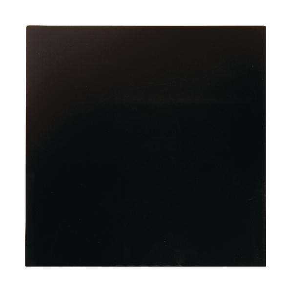 Bi-Office Magnetic Glass Personal Board Black 380x380mm GL140201