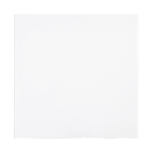 Bi-Office Magnetic Glass Personal Board White 380x380mm GL140101
