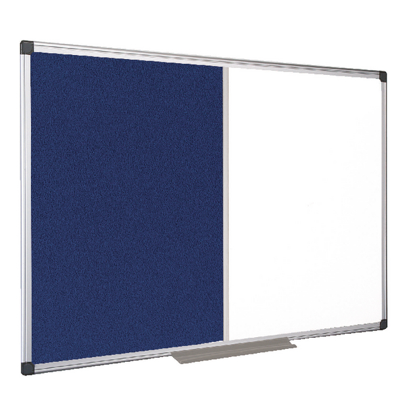 Bi-Office Drywipe and Felt Combination Board 1200x900mm XA0522170