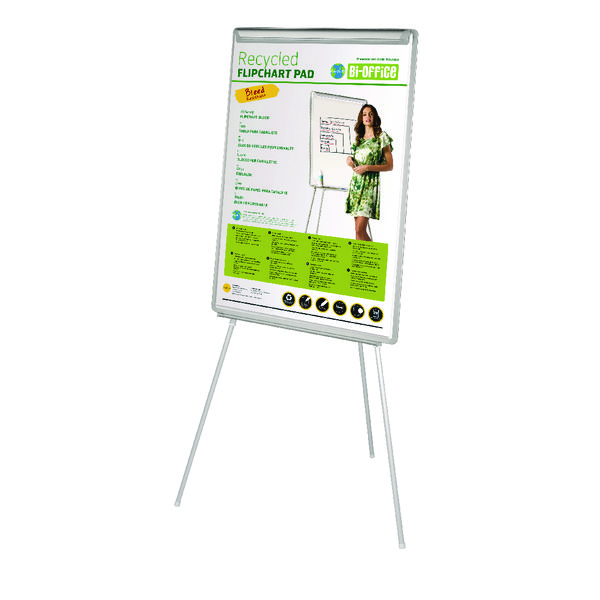 Image for Bi-Office White Earth-It Flipchart Easel EA4676995