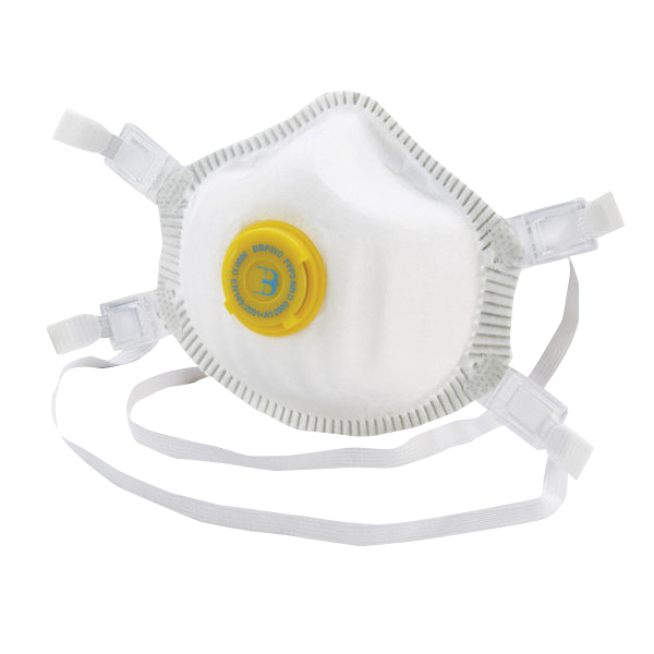 B-Brand P3 Premium Vented Mask (Pack of 5) BBP3VD