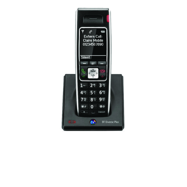 BT Diverse 7400 Plus DECT Cordless Phone