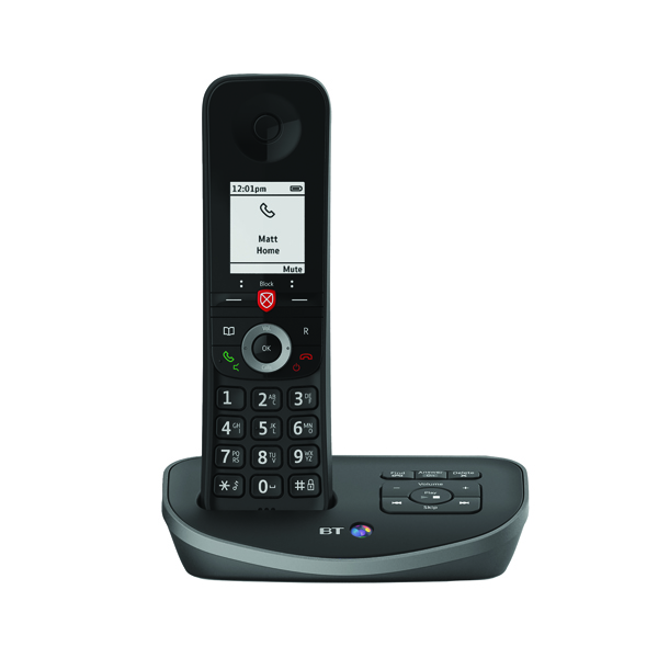 BT Advanced DECT TAM Single (Up to 22 hours talking or 240 hours standby) 90638