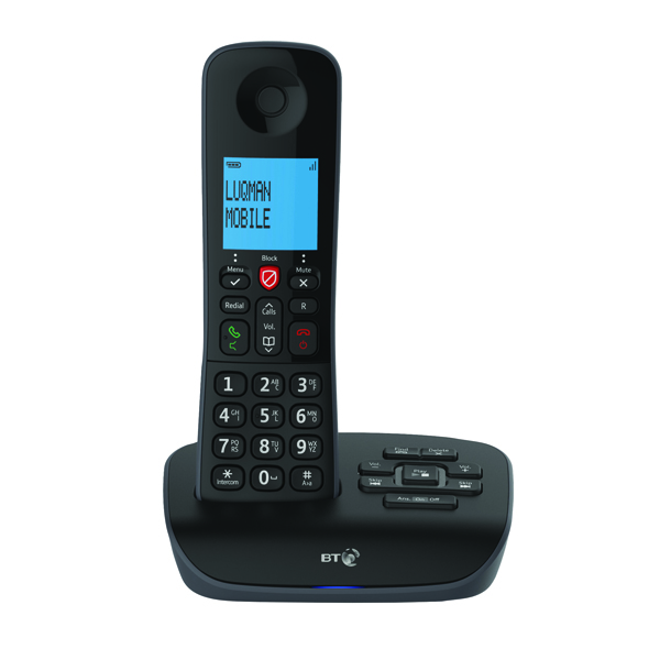 BT Essential DECT TAM Phone Single 90657