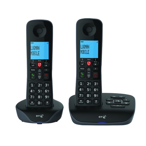 Image for BT Essential DECT TAM Phone Twin