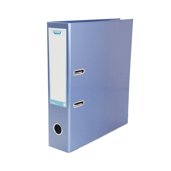 Elba Classy 70mm Lever Arch File A4 Metallic Blue 400021023
