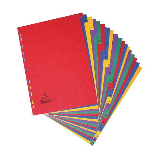 Elba A-Z Pressboard Index A4 400007514