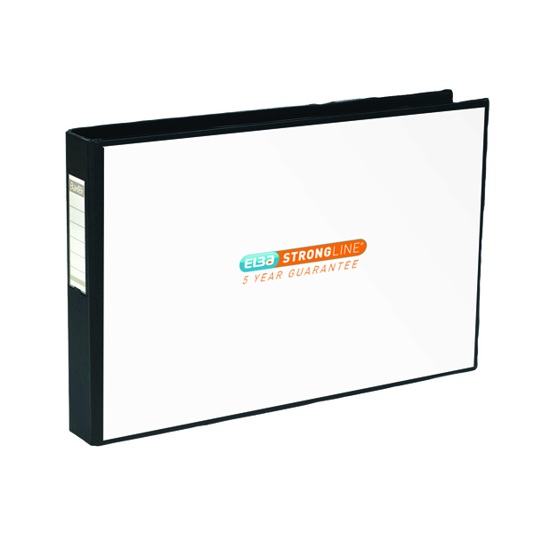 Elba Vision 30mm 4D-Ring Binder Oblong A3 Black 400000113