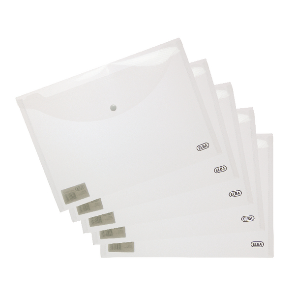 Elba A4 Clear Snap Wallet 100080924