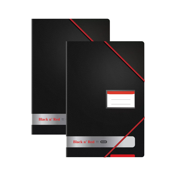 Image for Black n Red Display Book (Pack of 2)