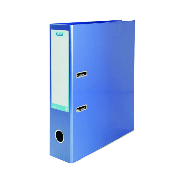 Elba Classy Lever Arch A4 Met Blue 3FOR2 (Pack 2 + 1)