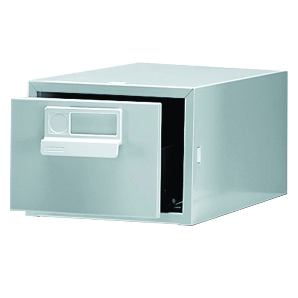 Bisley 6x4 Inches Single Grey Card Index Cabinet FCB14