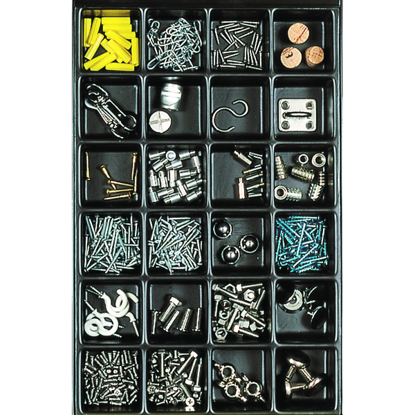 Image for Bisley Multi Drawer Insert Tray Plastic 51mm High 24 Compartments