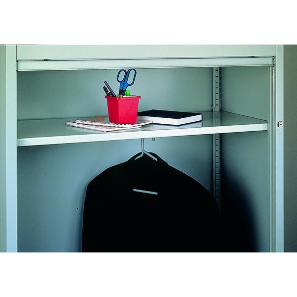 Image for Bisley Shelf Wardrobe Grey 7035 BWSGY