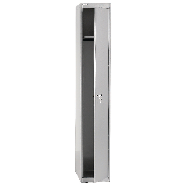 Image for Bisley Goose Grey 1 Door Locker W305xD457xH1802mm